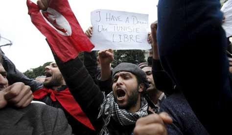 Revolución de los Jazmines en Túnez