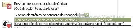 correo anonimo proxy Facebook 2012