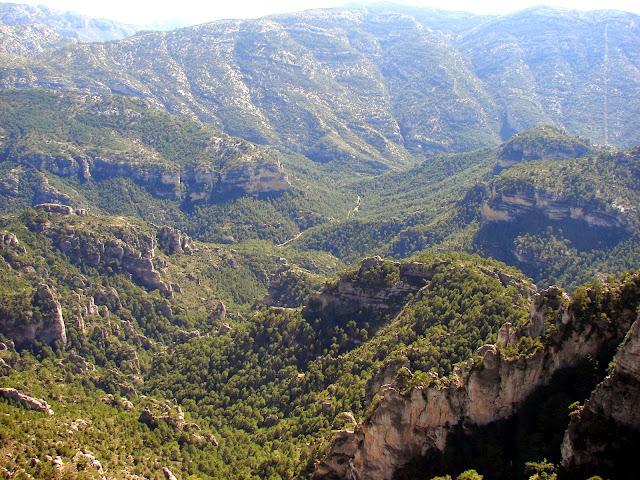senderismo - Fou - Canal Negra - Negrell - Portella del Ros