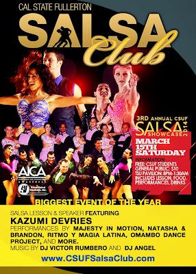 3rd Annual CSUF Salsa Showcase
