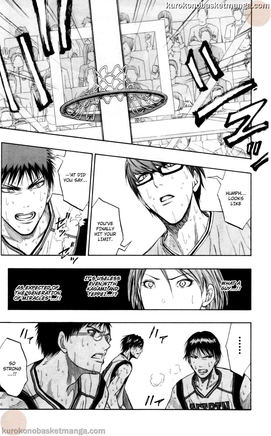 Kuroko no Basket Manga Chapter 89 - Image 13