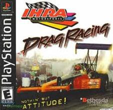 IHRA Drag Racing   PS1