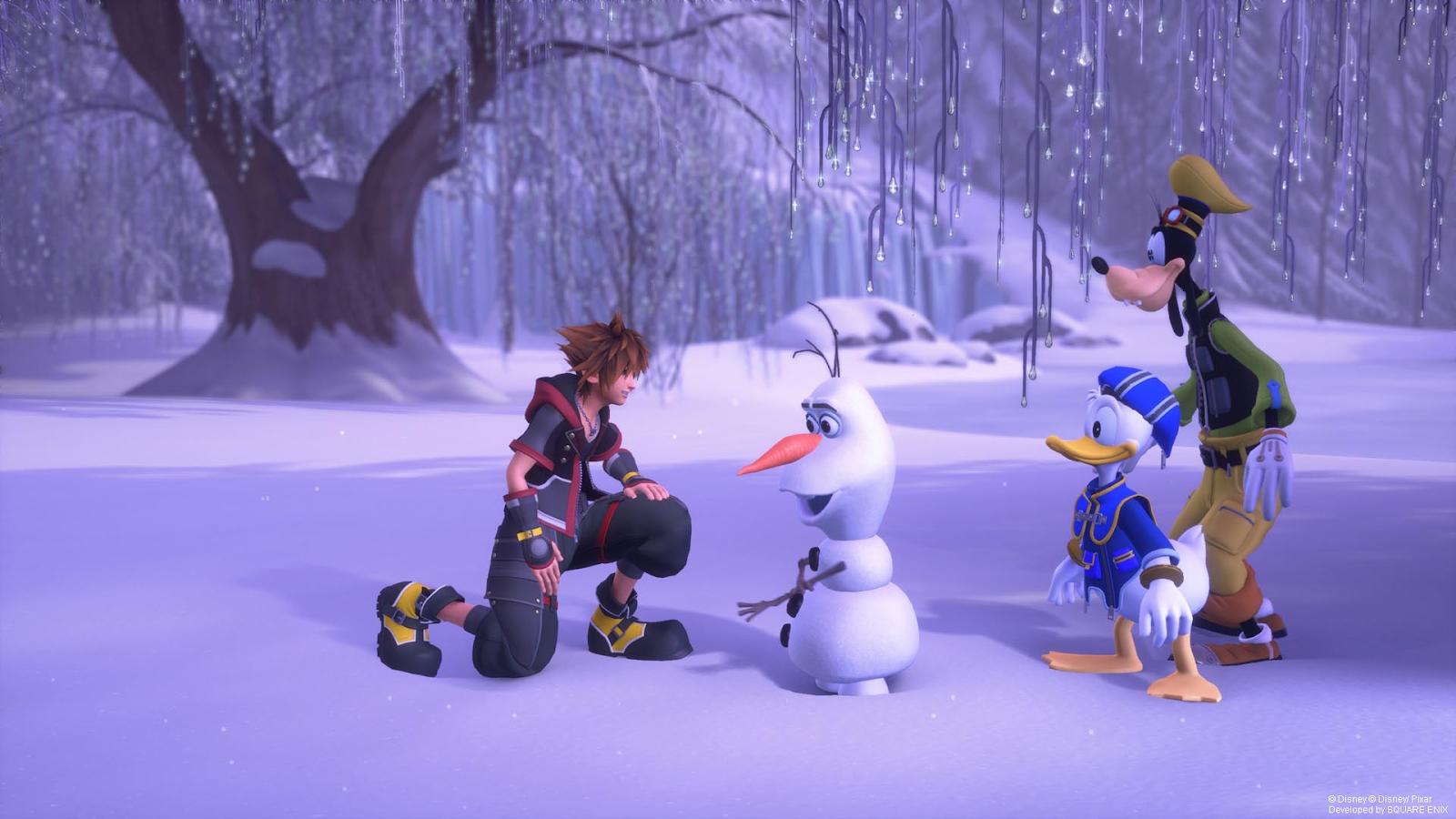 Sora, Olaf, Aku & Hessu