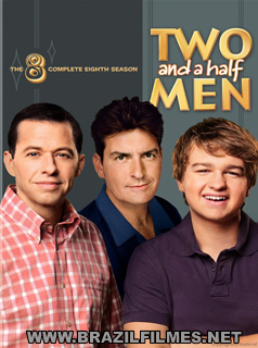 Download Dois Homens e Meio 8ª Temporada DVDRip AVI Dual Áudio RMVB Dublado DVD-R