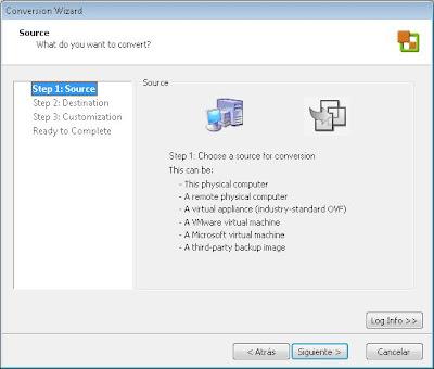 Exportar máquina virtual de VMware Workstation e importarla en VMware ESXi