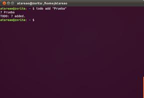 Tu lista de tareas, en Android y en tu terminal de Ubuntu