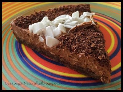 dairy-free gluten-free low-sugar coconut cream pie