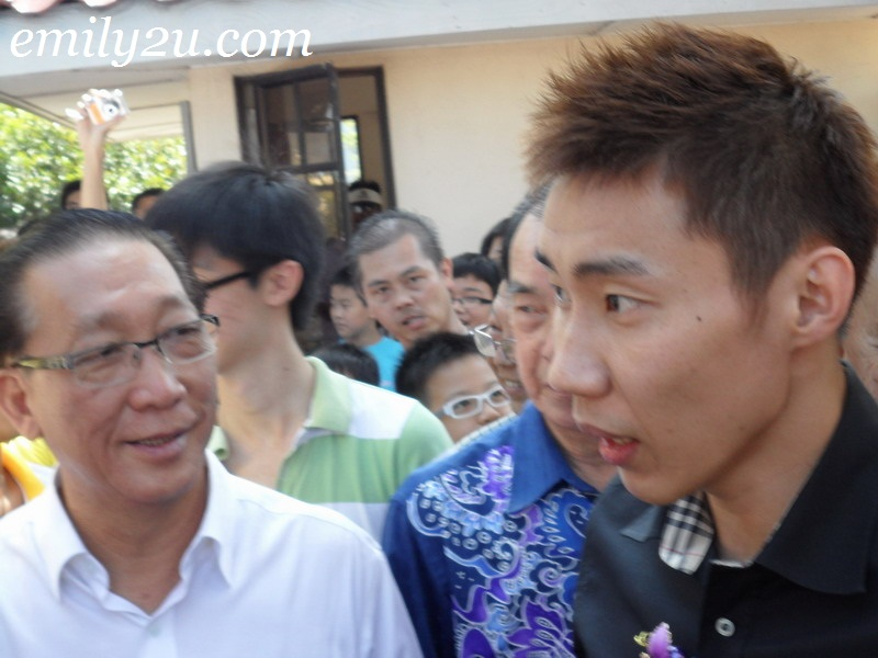 Lee Chong Wei badminton world number one