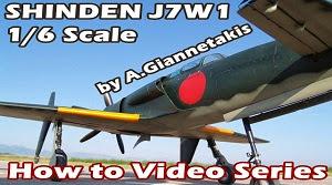 Scratch build SHINDEN J7W1