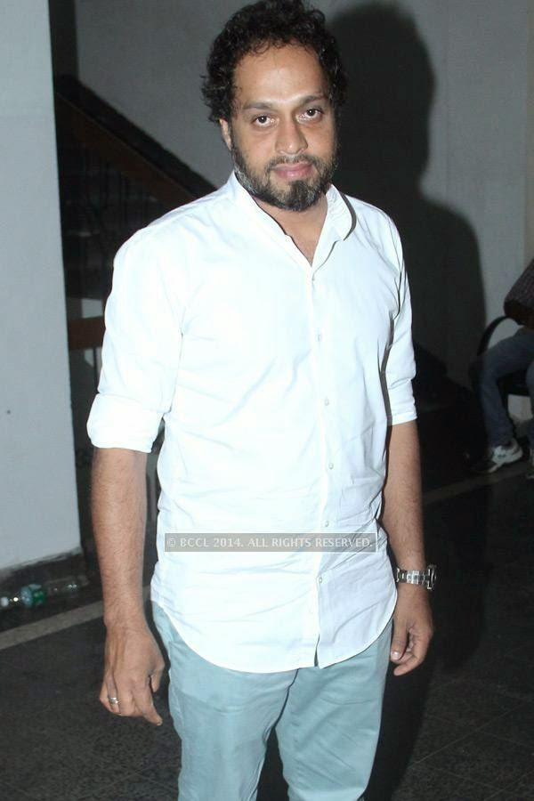Riyas Komu during the music launch of Rajeev Ravi's upcoming movie Njan Steve Lopez in the city.