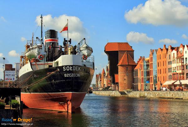 Gdańsk - Sołdek i Długie Pobrzeże
