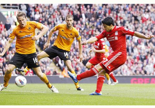 Luis Suarez, Liverpool - Wolves