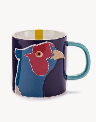 Pheasant mug by joules