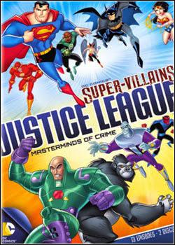 1 DC Super Vilões Liga da Justiça Mentores do Crime