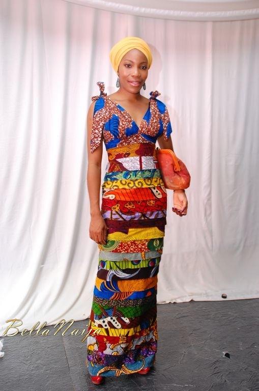 Afrostyle Ankara Gown Arise Magazine Fashion Week Lagos