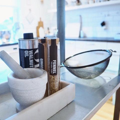 Silje vaniljeis: kjøkken   styling   krydder   diy
