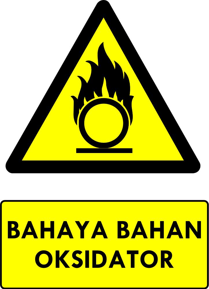 Rambu Bahaya Bahan Oksidator