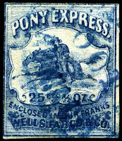 pony express postage stamp