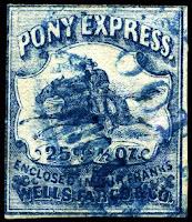 pony express postage stamp