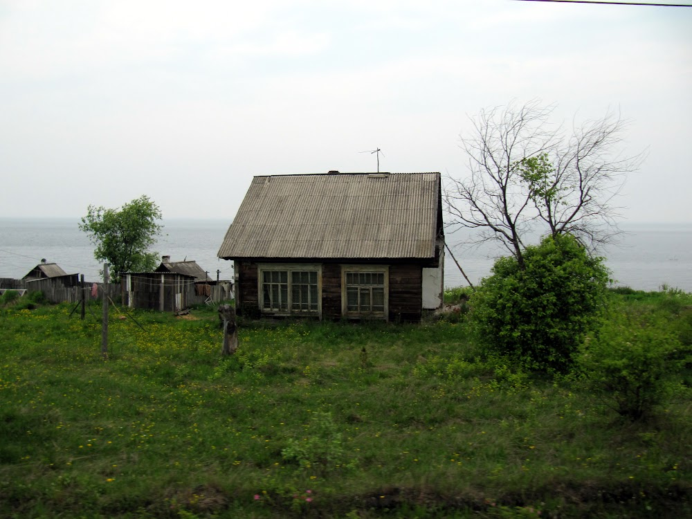 Cottage On The Banks Of Lake Baikal