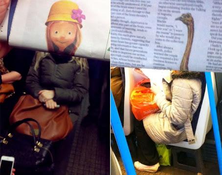Improvisando en el metro
