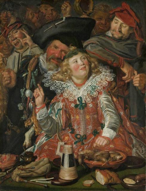 Frans Hals - Merrymakers at Shrovetide