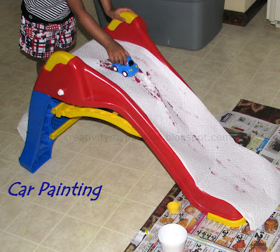Car Painting Using a slide