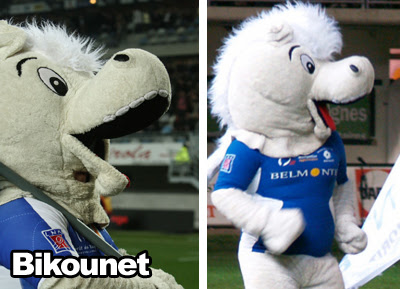 Mascotte rugby MHRC