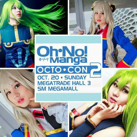 cosplayer jia gold bustamante in oh no manga octo-con 2