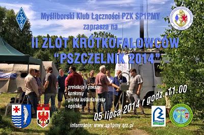 """II Zlot Krótkofalowców """"PSZCZELNIK 2014"""""""