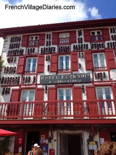 French Village Diaries Espelette Piments Basque Pyrenees France