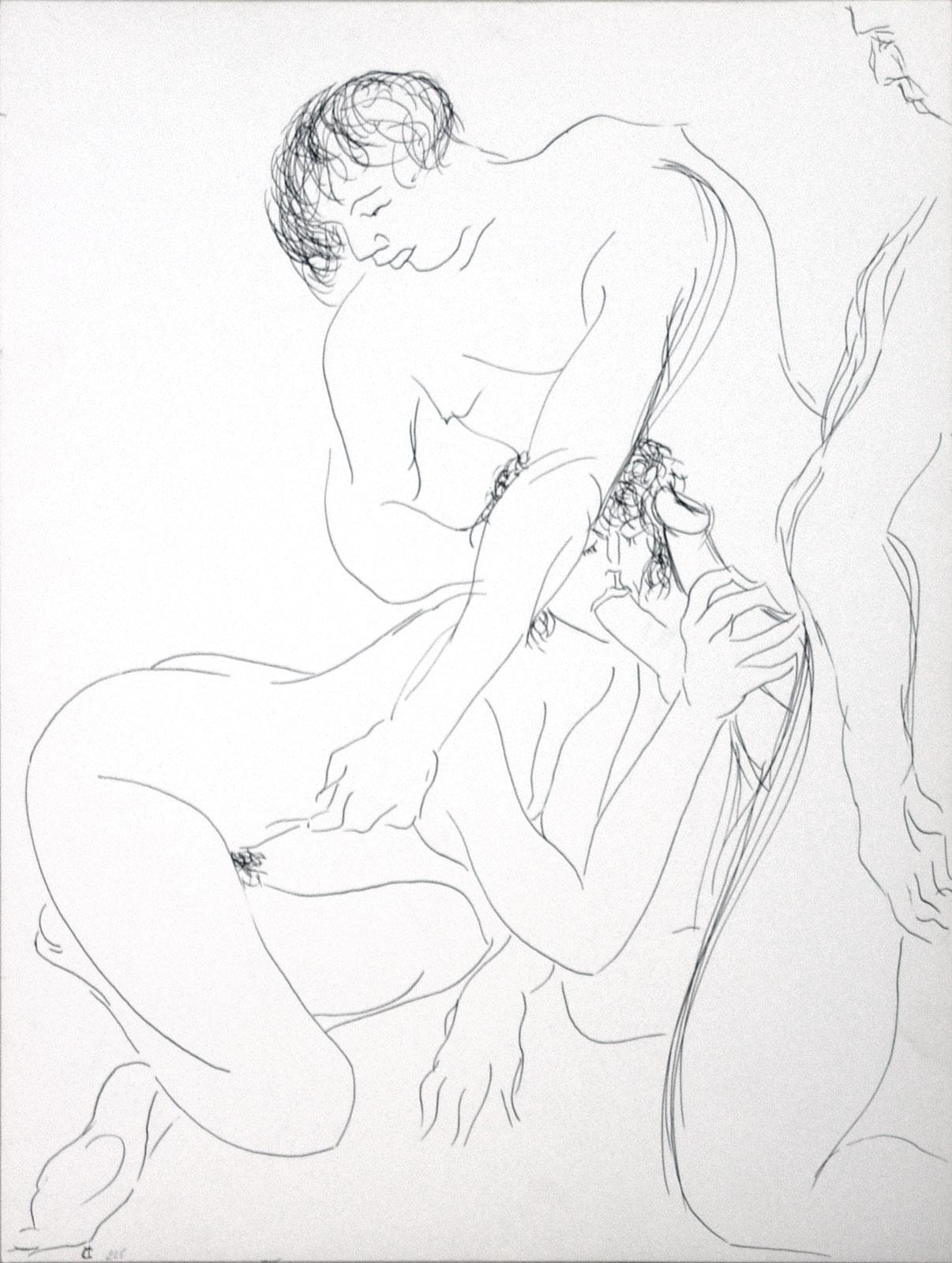 image erotique fellations dessin