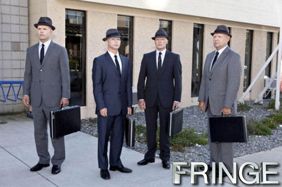 Fringe observers vs the adjustment bureau fringe for Bureau tv show