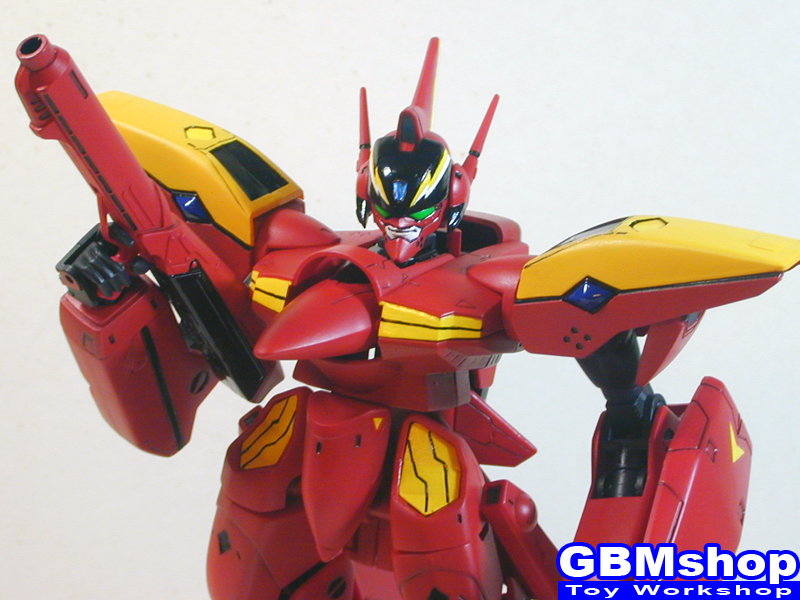Macross 7 VF-19 Kai Excalibur Custom Fire Valkyrie
