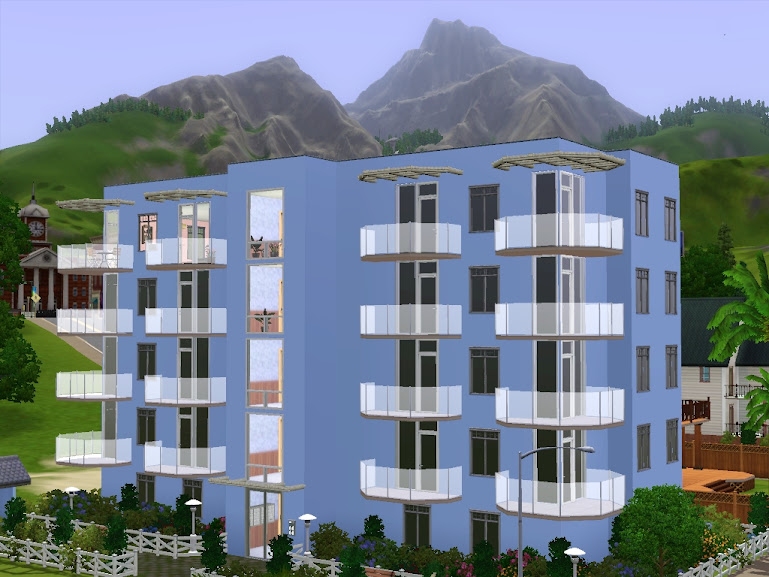 sims3 apartment sunset valley