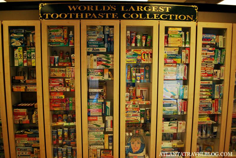Самая большая коллекция зубной пасты