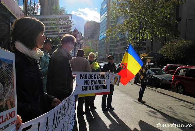 Rosia Montana protest - duminica sapte