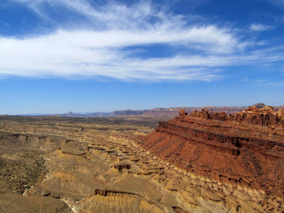 View from the top of the San Rafael Reef