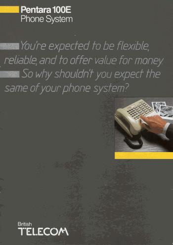 Pentara 100E Phone system