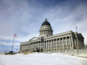 The Utah Capitol, my winter home (2012)