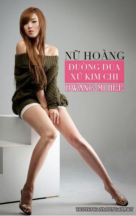 Hwang Mi Hee: Nữ hoàng đường đua xứ Kim Chi