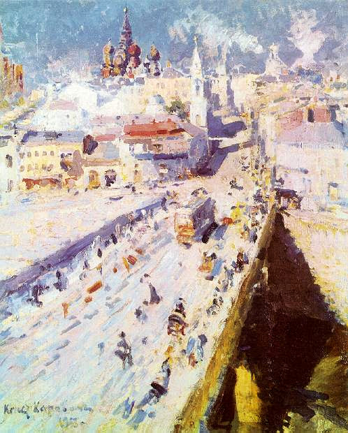 Konstantin Korovin - Old Moscow