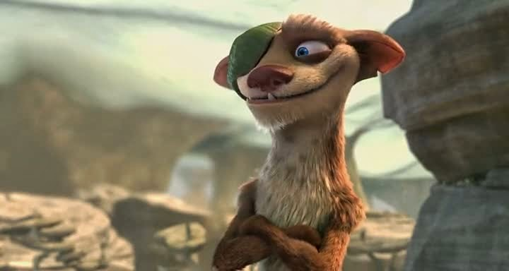 Free Download Single Resumable Direct Download Links For Hollywood Movie Ice Age 2: The Meltdown (2006) In Dual Audio