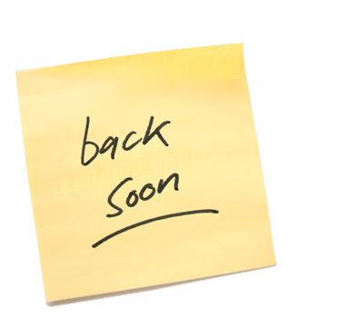 Ohhhhhhhh : I'll be back
