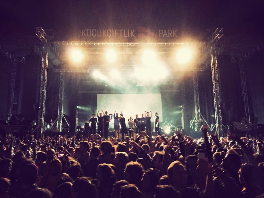 woodkid at Kucukciftlik Park