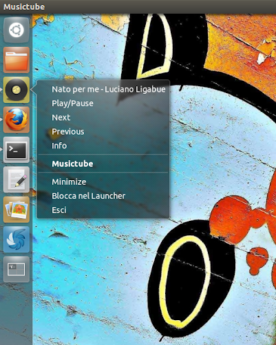 MusicTube 1.2 quicklist