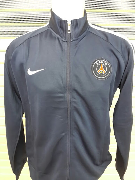 Jual Jaket PSG Abu-Abu List Putih 2014-2015 Terbaru