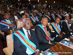 Des députés nationaux de la RDC le 15/12/2012 au palais du peuple à Kinshasa, lors du discours du prédisent Joseph Kabila sur l'état de la nation devant les deux chambres du Parlement réunies en congrès. Radio Okapi/ Ph. John Bompengo