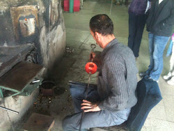 Hebron glass blower