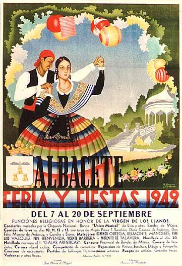 Cartel Feria Albacete 1942